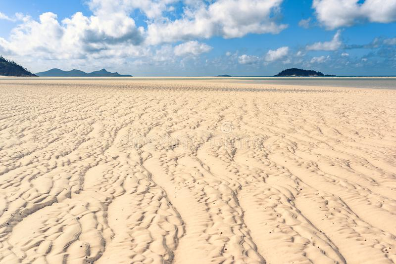Παραλία Airlie του Whitsundays στοκ εικόνα με δικαίωμα ελεύθερης χρήσης