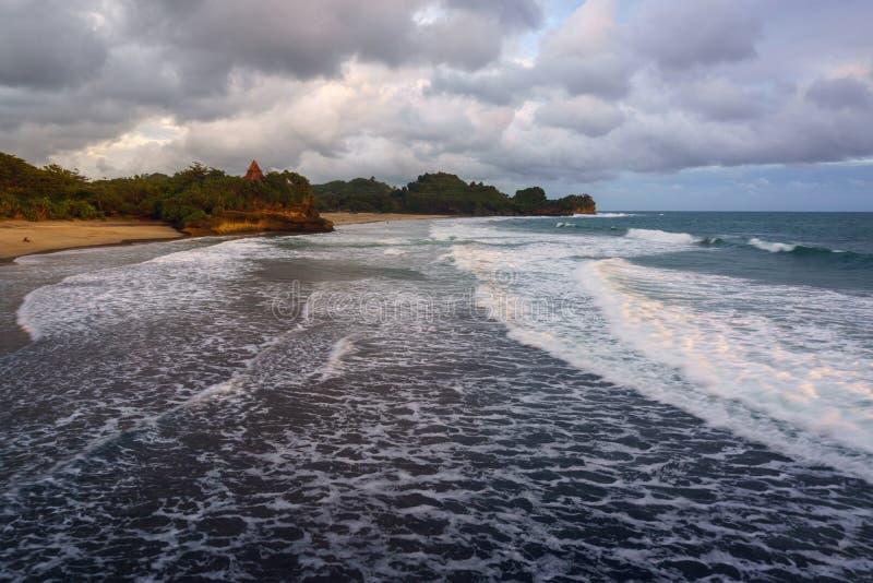 Παραλία Ayu Taman στοκ φωτογραφία