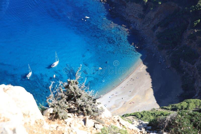 Παραλία Baix Coll σε Majorca στοκ εικόνες