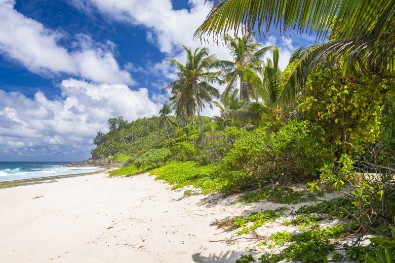 Παραλία Bazarca Anse, Mahe, Σεϋχέλλες στοκ φωτογραφία με δικαίωμα ελεύθερης χρήσης