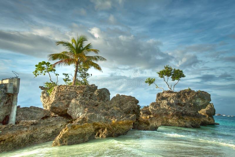 παραλία boracay στοκ εικόνες