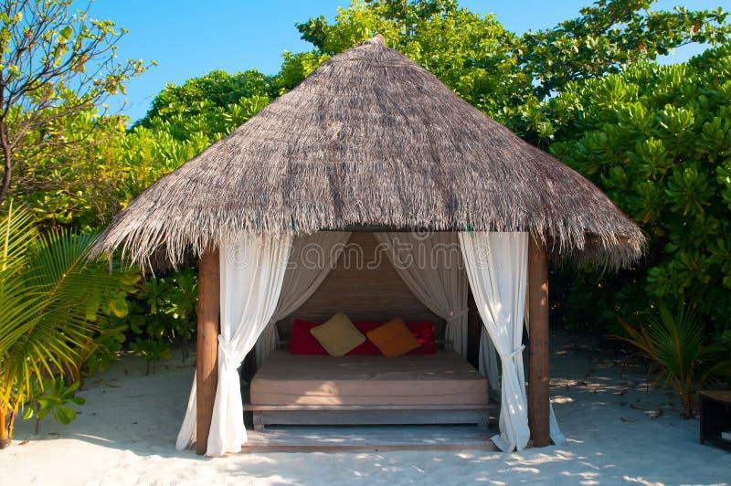 παραλία cabana στοκ εικόνες με δικαίωμα ελεύθερης χρήσης