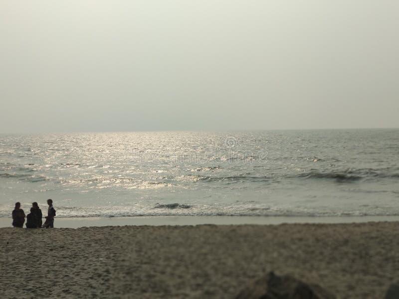 Παραλία Calicut στοκ φωτογραφία με δικαίωμα ελεύθερης χρήσης