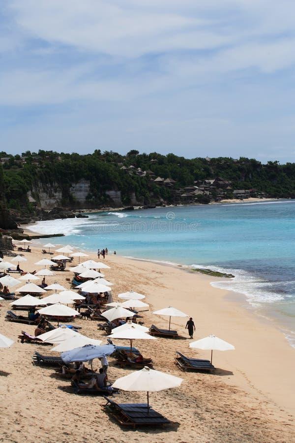 παραλία dreamland στοκ εικόνες με δικαίωμα ελεύθερης χρήσης