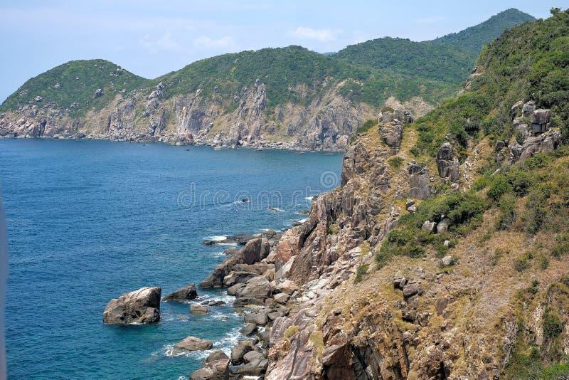 Παραλία EO Gio, Quy Nhon, Βιετνάμ στοκ φωτογραφία με δικαίωμα ελεύθερης χρήσης