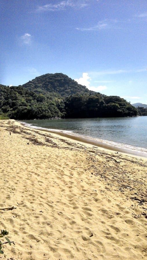 Παραλία Fazenda στο Ρίο ντε Τζανέιρο Paraty στοκ εικόνες