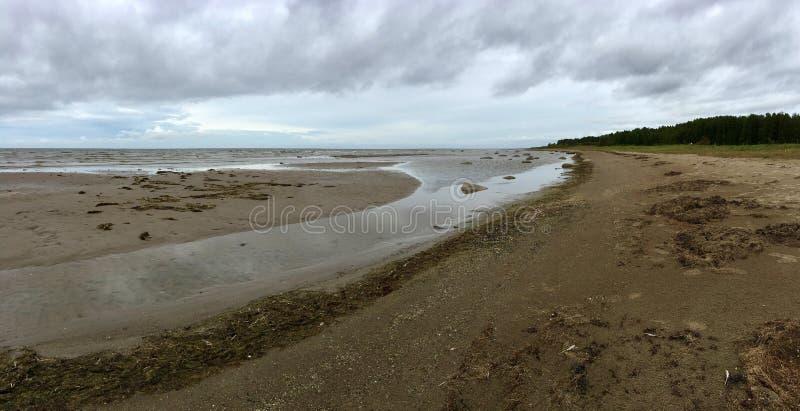 Παραλία Kabli στην Εσθονία στοκ φωτογραφίες