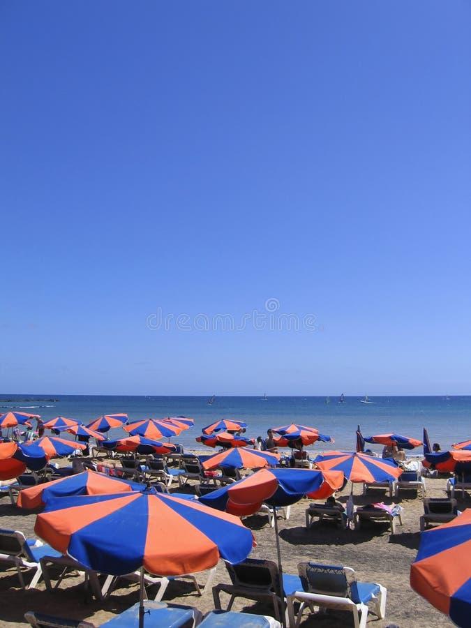 παραλία Lanzarote στοκ φωτογραφία με δικαίωμα ελεύθερης χρήσης