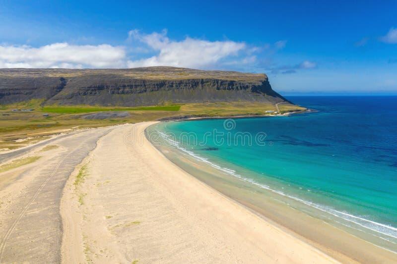 Παραλία Latrabjarg στοκ φωτογραφία με δικαίωμα ελεύθερης χρήσης