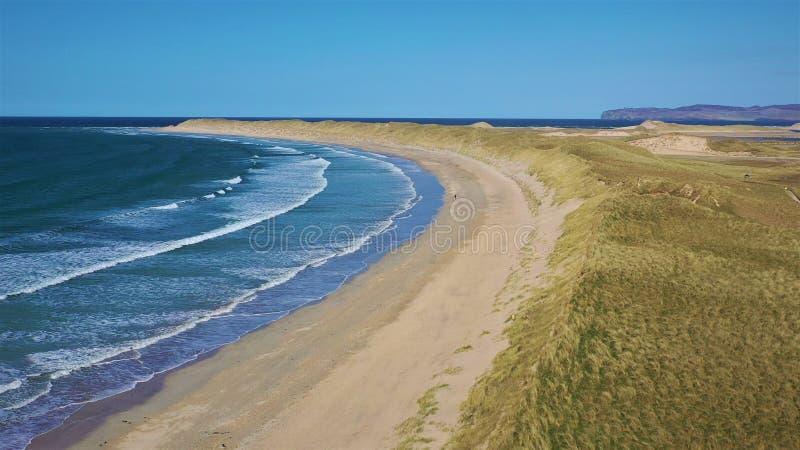 Παραλία Magheroarty ομο Donegal Ιρλανδία στοκ εικόνα με δικαίωμα ελεύθερης χρήσης