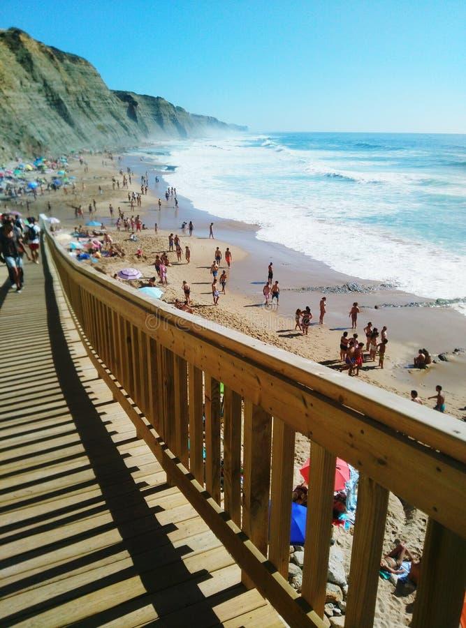 Παραλία Magoito στοκ φωτογραφία