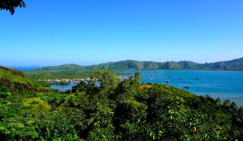 Παραλία Mande, δυτικό sumatera στοκ εικόνα