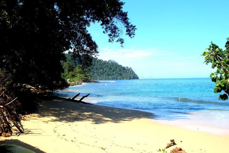 Παραλία Mandeh στοκ φωτογραφίες με δικαίωμα ελεύθερης χρήσης