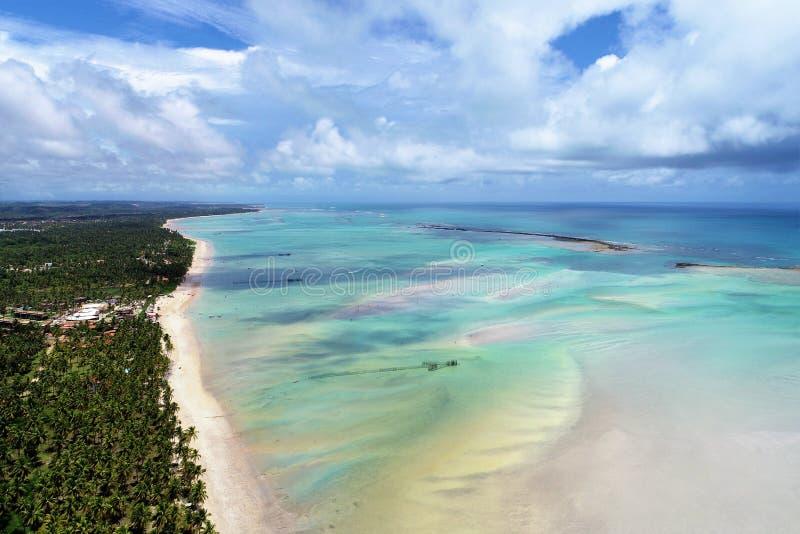 Παραλία Maragogi, Alagoas, Βραζιλία Μεγάλο τοπίο! στοκ φωτογραφία με δικαίωμα ελεύθερης χρήσης