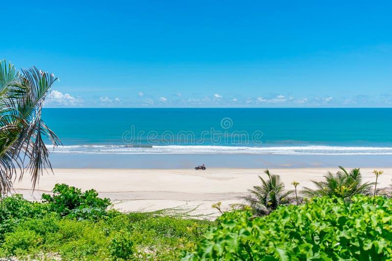 Παραλία Nordeste Βραζιλία στοκ φωτογραφία