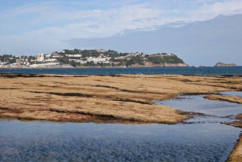παραλία paignton στοκ εικόνα
