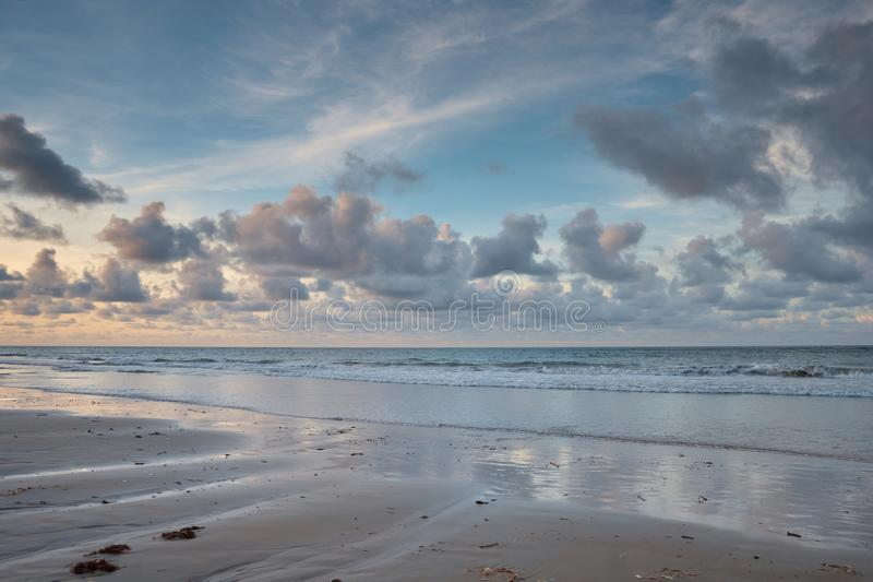 Παραλία Paracuru, ceara του Φορταλέζα - Βραζιλία στοκ φωτογραφία
