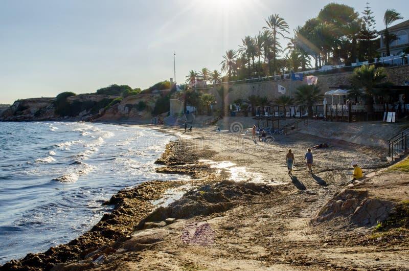 Παραλία Punta Prima στοκ φωτογραφίες