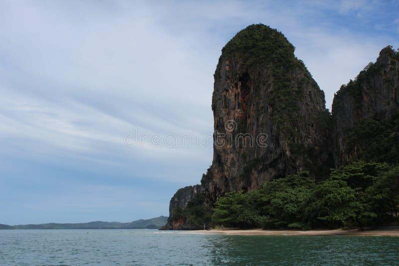 Παραλία Railay - Krabi Ταϊλάνδη στοκ εικόνες με δικαίωμα ελεύθερης χρήσης