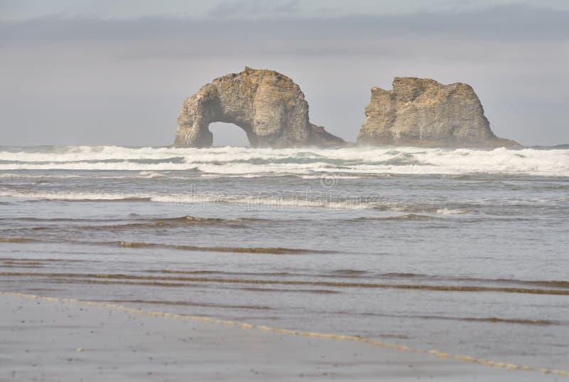 Παραλία Rockaway, Όρεγκον κράτη που ενώνονται στοκ φωτογραφία με δικαίωμα ελεύθερης χρήσης