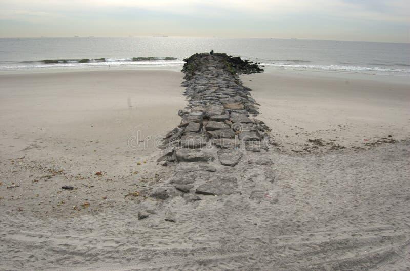 παραλία rockaway στοκ εικόνες