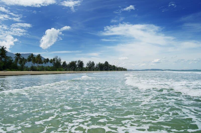 παραλία sematan στοκ εικόνα με δικαίωμα ελεύθερης χρήσης