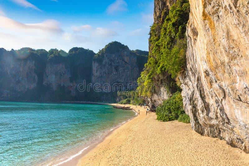 Παραλία Tonsai, Krabi, Ταϊλάνδη στοκ εικόνες με δικαίωμα ελεύθερης χρήσης