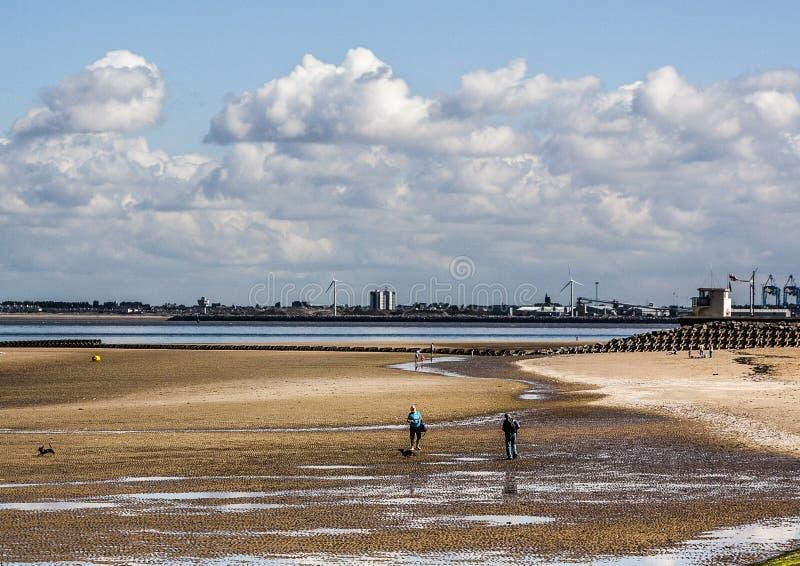 Παραλία Wallasey στοκ φωτογραφία με δικαίωμα ελεύθερης χρήσης