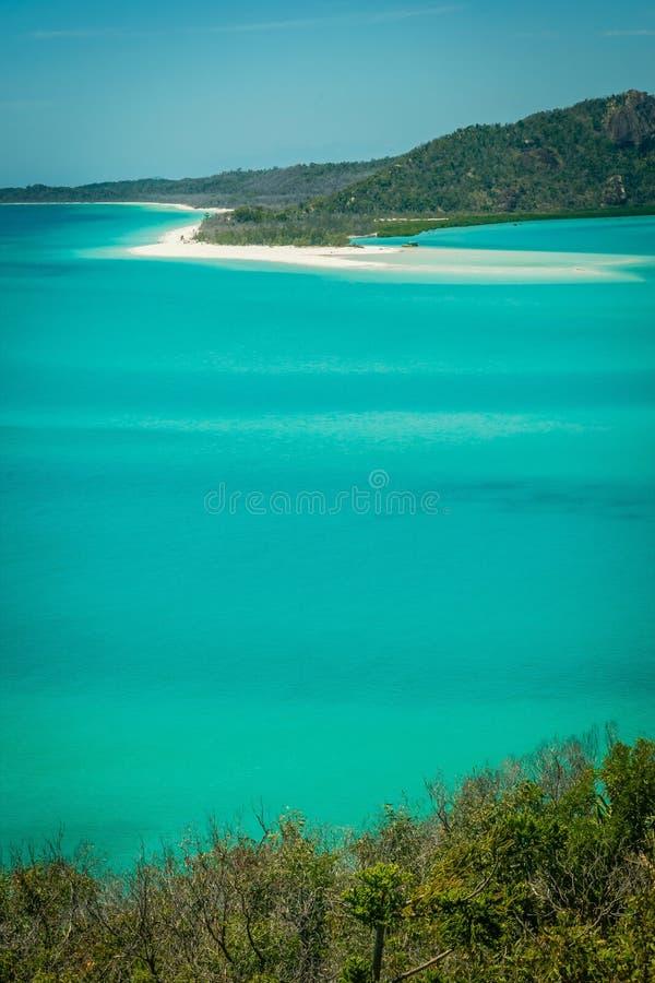 Παραλία Whitehaven στο Whitsundays, κοντά στην παραλία Airlie στοκ φωτογραφίες με δικαίωμα ελεύθερης χρήσης
