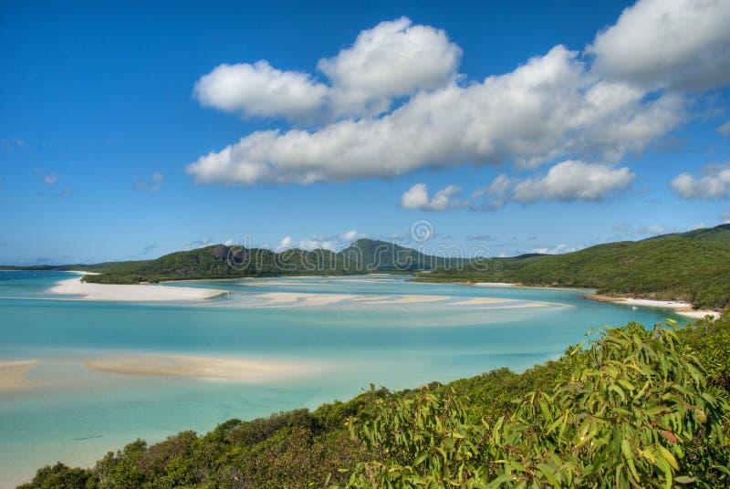 Παραλία Whitehaven, Queensland στοκ εικόνες