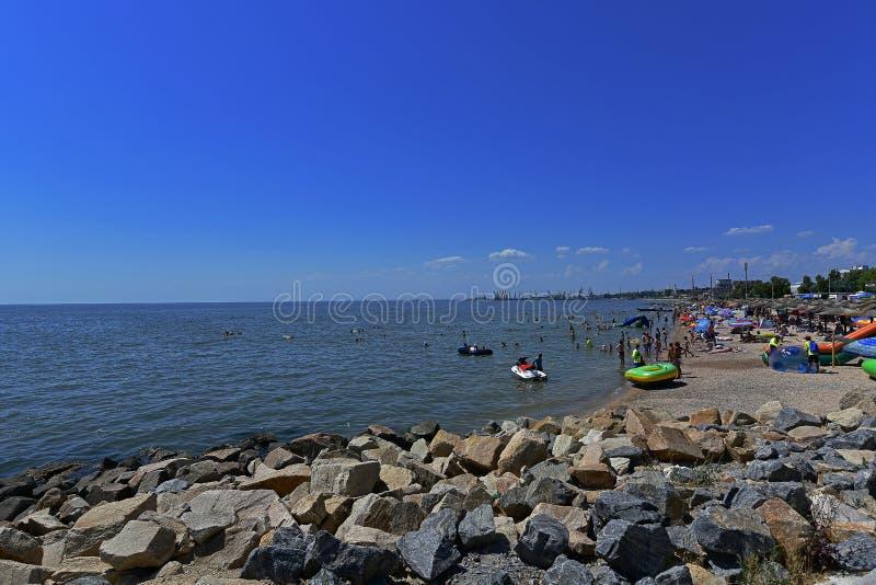 Παραλίες και αναχώματα θάλασσας στοκ εικόνα