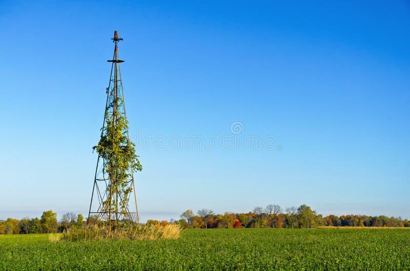 Παραμελημένος πύργος αέρα στοκ εικόνες