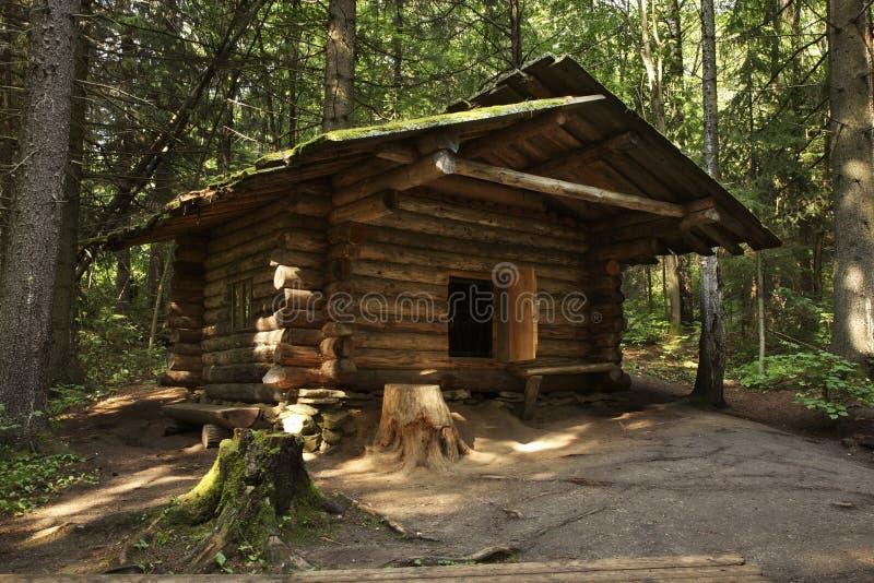 Παραμονή κυνηγιού σε Khokhlovka Perm Krai Ρωσία στοκ εικόνα με δικαίωμα ελεύθερης χρήσης