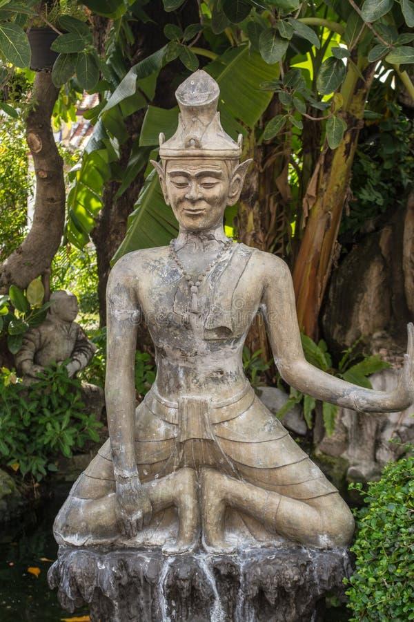 Παραμόρφωση σε Wat Pho στη Μπανγκόκ Ταϊλάνδη στοκ φωτογραφίες με δικαίωμα ελεύθερης χρήσης