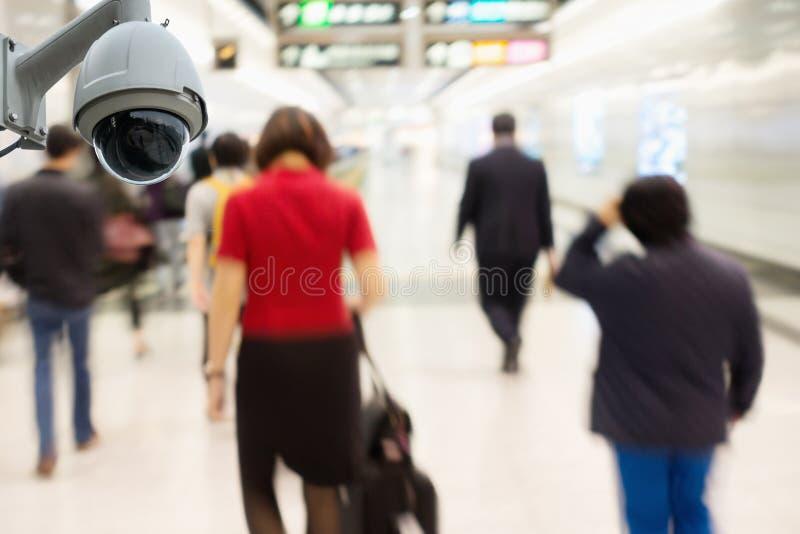Παρατήρηση κάμερων ασφαλείας CCTV και έλεγχος στον υπόγειο ST στοκ εικόνες με δικαίωμα ελεύθερης χρήσης
