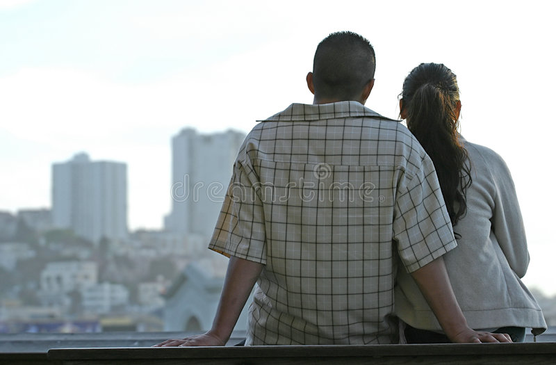 παρατήρηση πόλεων στοκ φωτογραφία