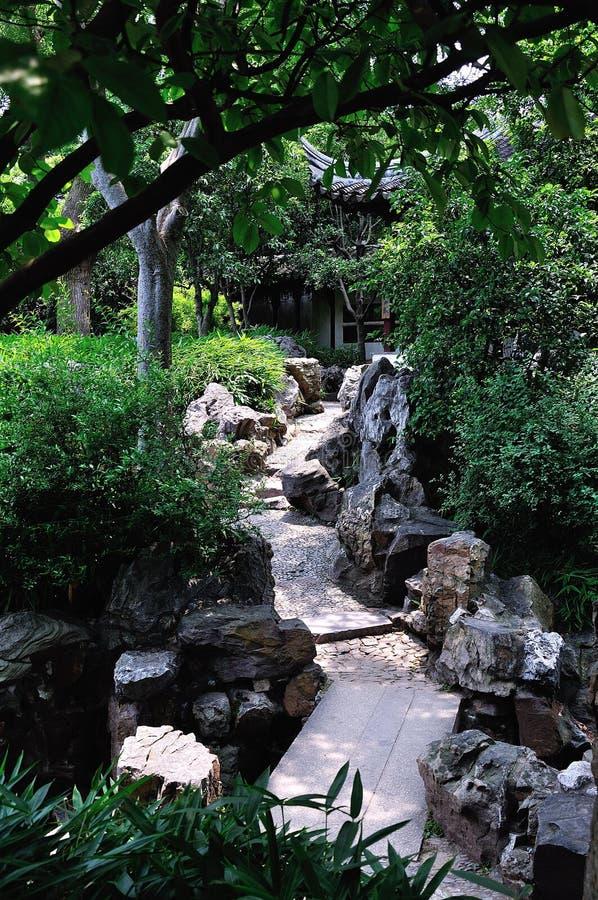 Παρατεταμένος δρόμος κήπων στοκ εικόνα με δικαίωμα ελεύθερης χρήσης