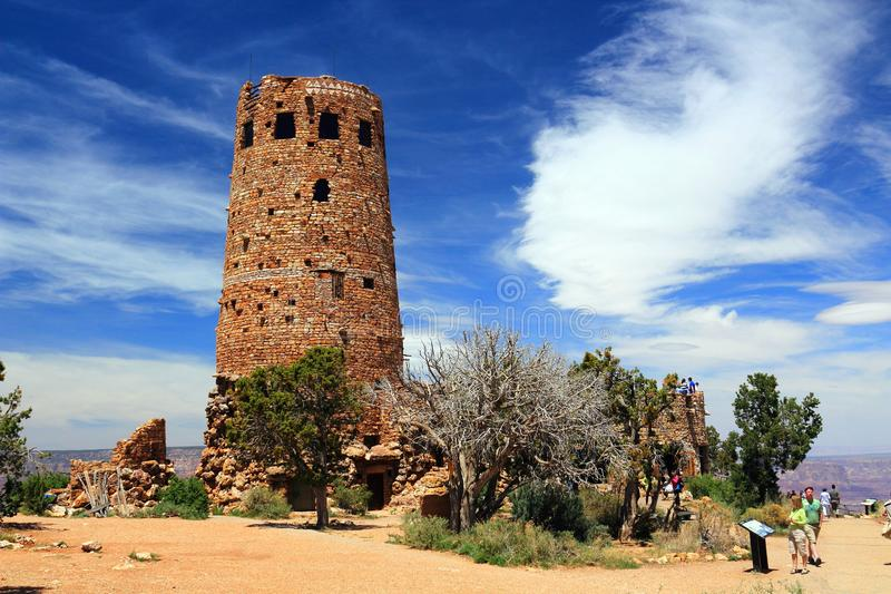 Παρατηρητήριο στην άποψη ερήμων, μεγάλο εθνικό πάρκο φαραγγιών, Αριζόνα στοκ φωτογραφίες