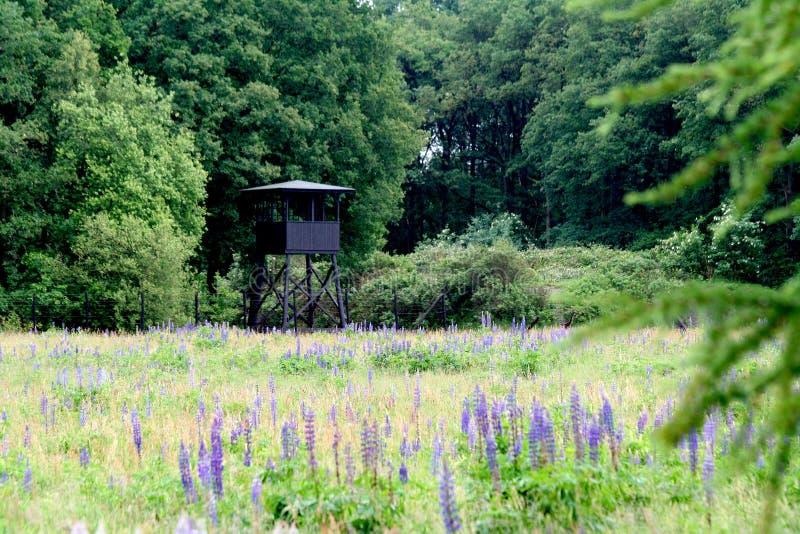 παρατηρητήριο του στρατόπεδου διέλευσης Westerbork στοκ εικόνες