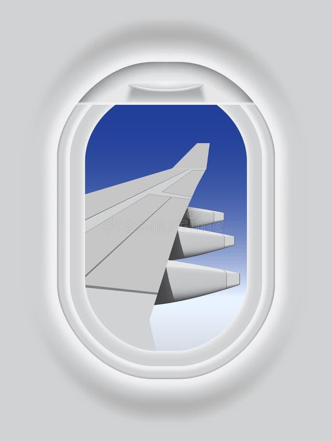 Παραφωτίδα αεροσκαφών ελεύθερη απεικόνιση δικαιώματος