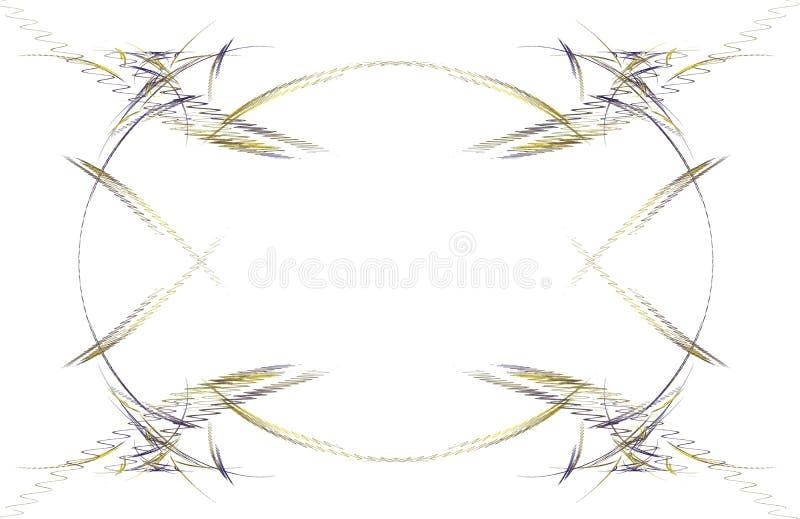 παραφωτίδα συνόρων διανυσματική απεικόνιση
