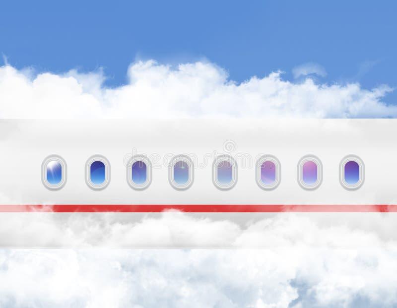 Παραφωτίδα αεροσκαφών s στοκ εικόνα με δικαίωμα ελεύθερης χρήσης