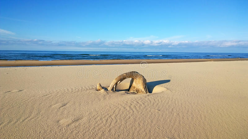 Παραλία άμμου στοκ φωτογραφία