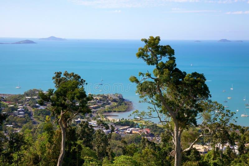 Παραλία Αυστραλία Airlie στοκ φωτογραφία