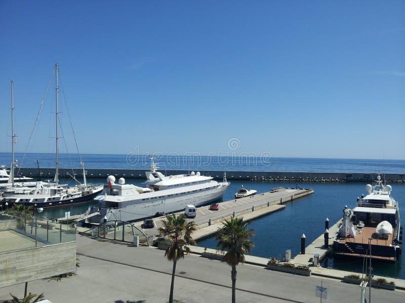 Παραλία Βαρκελώνη στοκ φωτογραφία με δικαίωμα ελεύθερης χρήσης