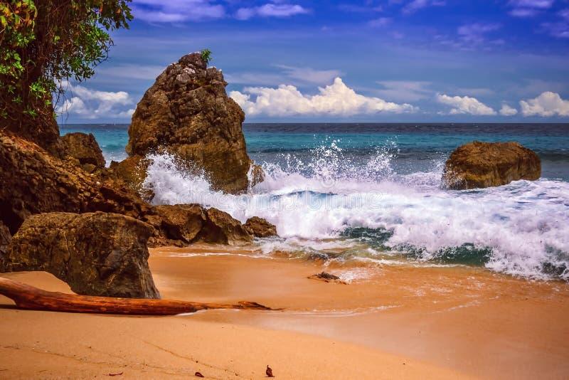 Παραλία Γ βάσεων σε Jayapura Παπούα στοκ εικόνες με δικαίωμα ελεύθερης χρήσης