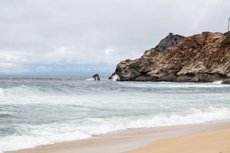 Παραλία Ειρηνικών Ωκεανών στοκ φωτογραφία