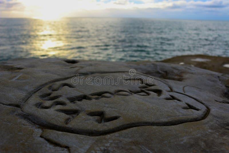Παραλία εραστών στοκ φωτογραφίες