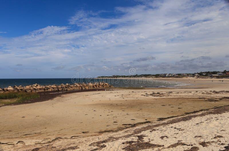 Παραλία εταιριών στο βακαλάο ακρωτηρίων στοκ εικόνα με δικαίωμα ελεύθερης χρήσης