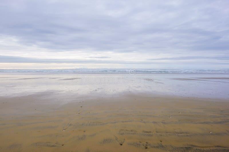 Παραλία και ακτή του Όρεγκον στοκ φωτογραφίες